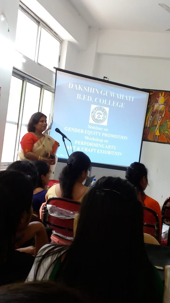 Seminar on Gender Equity Promotion